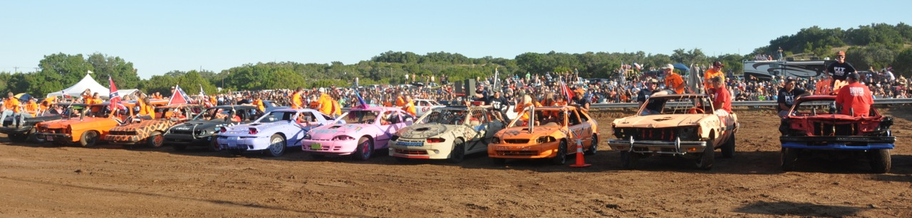 Spicewood destruction derby 2015