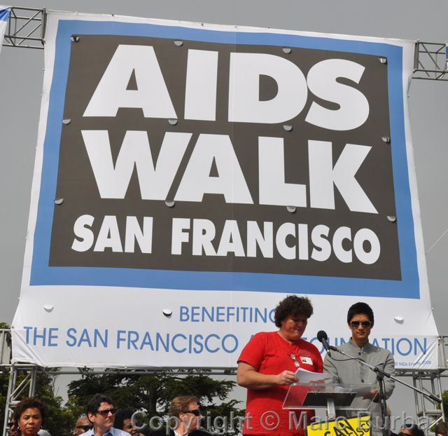 AIDS Walk 2012 San Francisco Glee