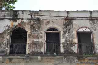 Old City abandoned building