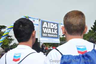 AIDS Walk 2012 San Francisco Chevron