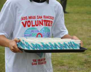 AIDS Walk 2012 San Francisco volunteers
