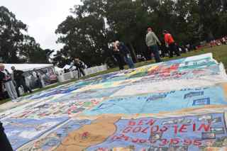 AIDS Walk 2012 San Francisco quilt