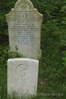 Arnos Vale World War I grave