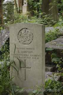 Arnos Vale World War I