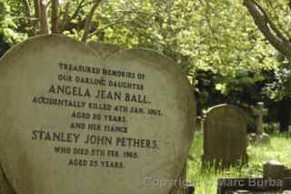 Arnos Vale Angela Jean Ball Stanley John Pethers