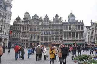 Grand Place guildhalls