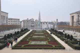 Garden of the Mont des Arts