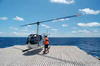 Great Barrier Reef helicopter Australia