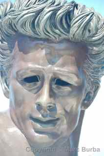 James Dean bust Griffith Observatory
