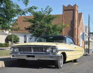 1964 Ford Galaxie 500 convertible Mount Carmel Pa.