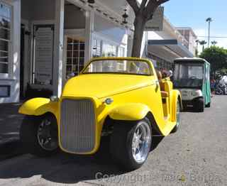 Avalon golf cart hot rod