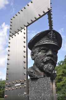 Rear Admiral Johan Pitka monument