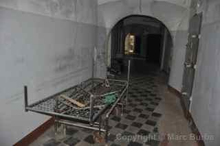 Patarei Prison hospital bed