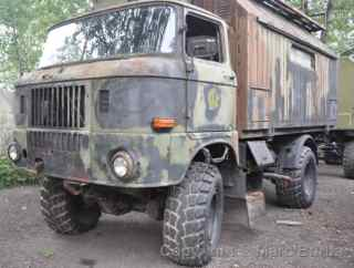 GAZ 66 off-road cargo vehicle