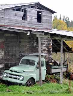 Ford farm truck Vermont