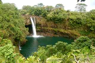 Rainbow Falls, Hilo Hawaii