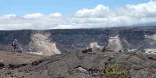 Kilauea caldera, Hawaii