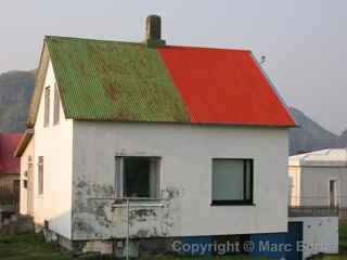 Heimaey house, Westman Islands, Iceland