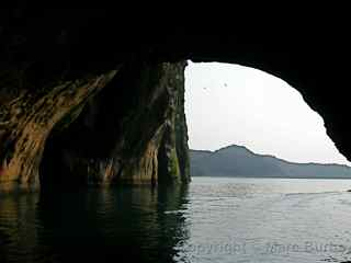 Westman Islands cave, Iceland