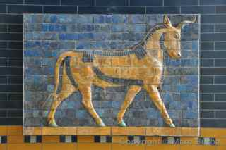 Istanbul Archaeology Museum ishtar gate