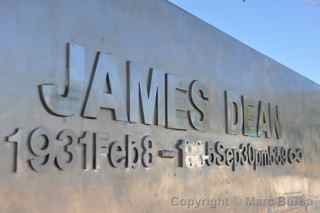 James Dean Cholame memorial