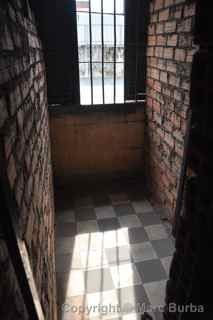 Tuol Sleng Genocide Museum cell