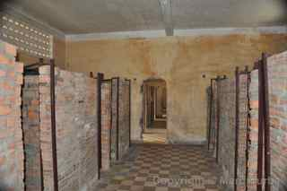 Tuol Sleng Genocide Museum cells