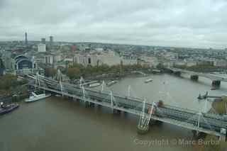London Eye bridge view