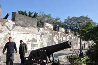 Mount Fortress cannon Macau