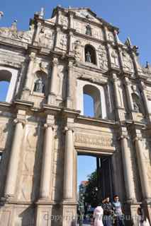 St. Paul Church ruins Macau