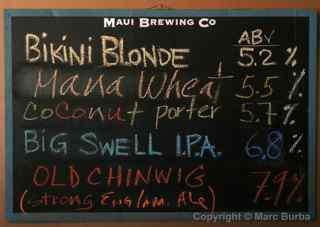 Maui Brewing Co., Lahaina, Maui
