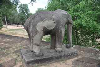 East Mebon elephants