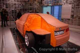 BMW museum clay