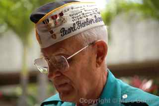 Pearl Harbor survivor, Oahu, Hawaii
