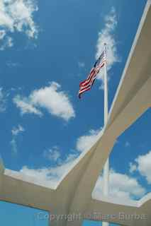 Pearl Harbor Arizona memorial, Oahu, Hawaii
