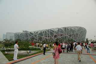 Beijing Olympics, National Stadium, Beijing China
