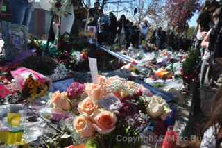 Paul Walker Memorial Meet flower bouquets
