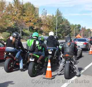 Paul Walker Memorial Meet motorcyclists
