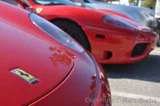 Paul Walker Memorial Meet Ferrari