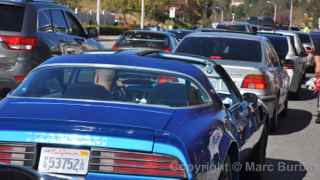 Paul Walker Memorial Meet cars
