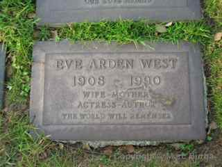 Pierce Bros. Westwood Village Eve Arden