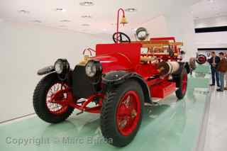 Porsche Museum 1912 fire engine