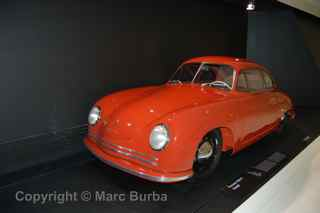 1948 356/2 Coupe, Porsche Museum, Stuttgart, Germany