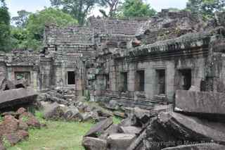 Preah Khan restoration