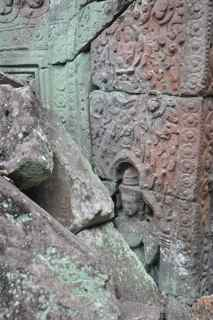 Preah Khan carvings