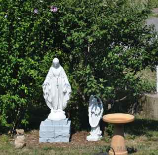Virgin Mary statue Ranshaw Pa.