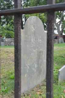 Old Burying Point grave