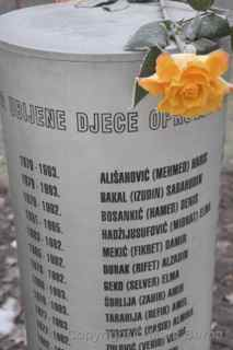 memorial to the children of sarajevo
