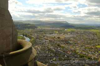 Wallace Monument Stirling view