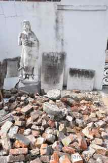 St. Louis Cemetery rubble